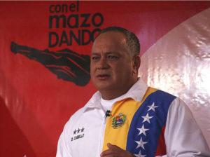 Diosdado Cabello pide unidad cívicomilitar ante amenazas