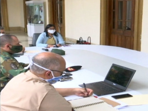Comisión Presidencial evalúa acciones sanitarias contra covid-19