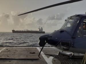Llegó «Clavel» quinto buque iraní a aguas venezolanas