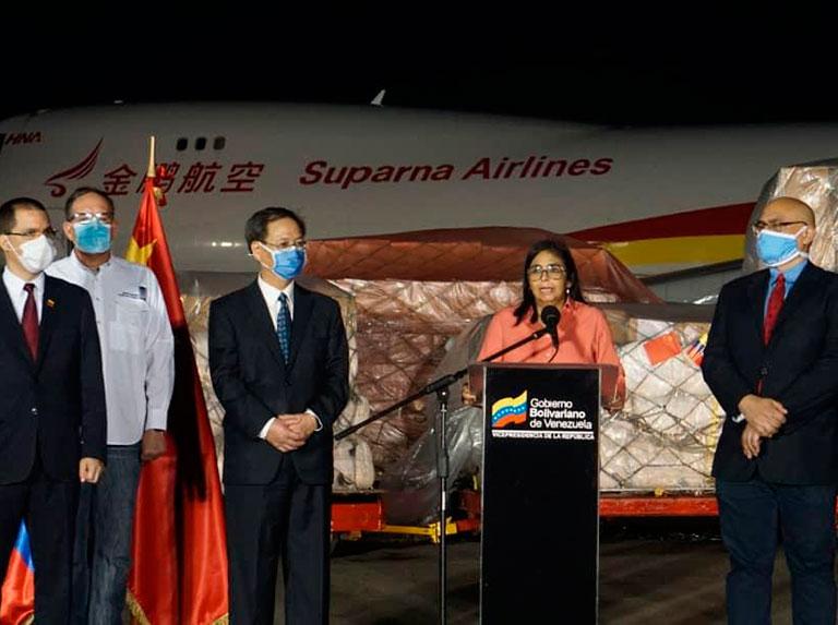 En medio del bloqueo, Venezuela encontró el abrazo solidario de China
