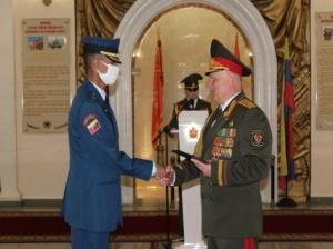 Promoción de cadetes de la FANB se graduó en Belarús