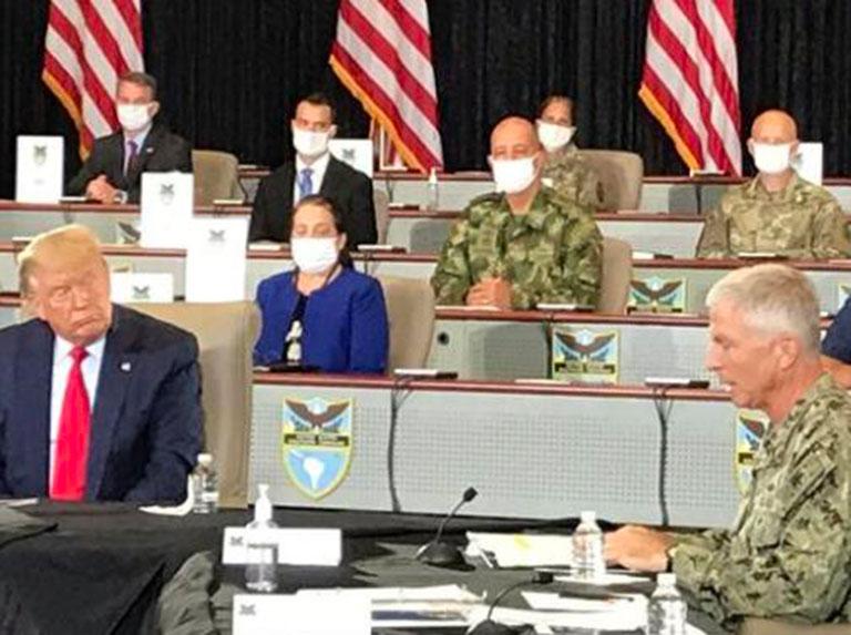 ¡Los soldados de Venezuela no son empleados de Trump!