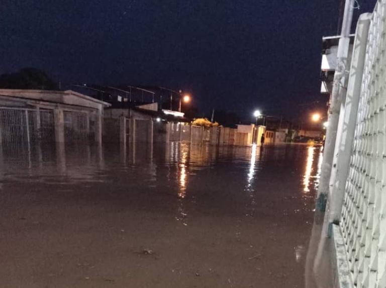 Inundaciones dejan decenas de hogares afectados Upata