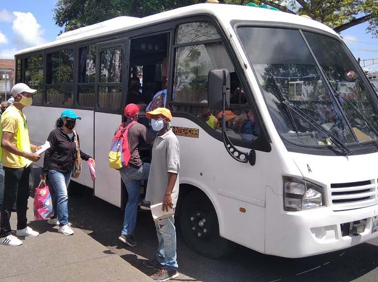 Suspendidas las rutas interurbanas en la Región Capital y Bolívar