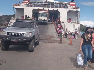 Por cuarentena restringen traslados en ferrys hasta Margarita