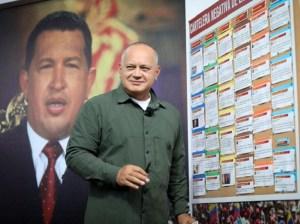 Diosdado Cabello condenó campaña política de la derecha