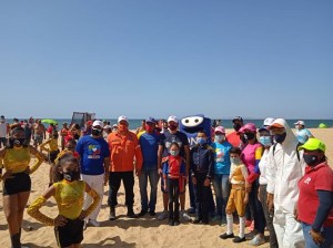 Sports and recreation mark the carnival in Sucre