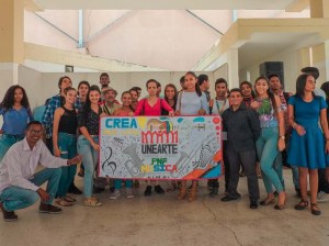 Unearte Cojedes active with activities of the Bicentennial route