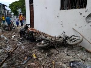 Más de 2.000 desplazados por violencia en un pueblo de Colombia