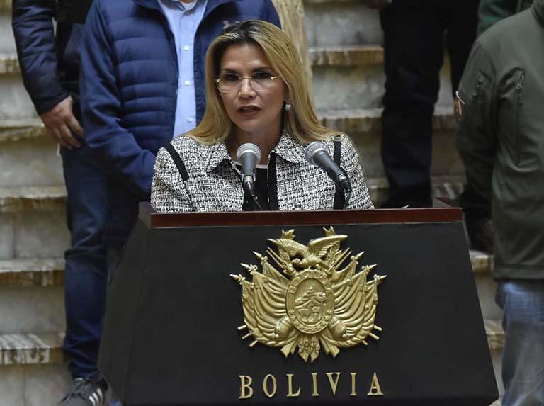 Informe devela que gobierno de Áñez cometió delitos de lesa humanidad