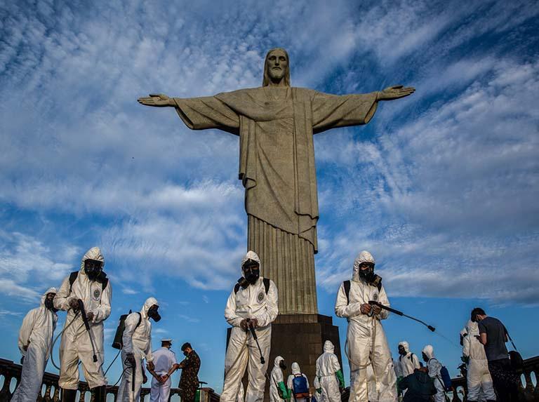 La OMS, preocupada por el covid, le pide a Brasil actuar