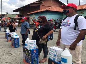 "Ruta informativa ""Darío Vivas"" se desplegó en Catia"