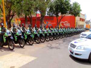They provide 21 new motorcycles to the Valencia Police