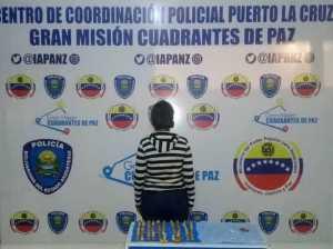 Detenidos dos narcomulas en Anzoátegui