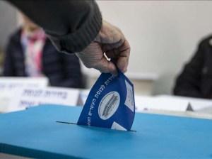 Israel celebrará elecciones este martes