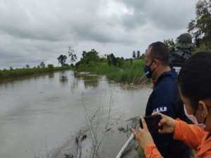 Fuertes lluvias ocasionan crecida del río chama en el Sur del Lago