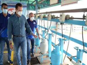 William Lara domestic gas filling plant in Guárico optimized