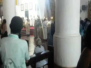 Catholic Church will celebrate holy days behind closed doors in Falcón
