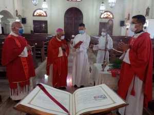 En Altos Mirandinos suspenden celebraciones religiosas con fieles
