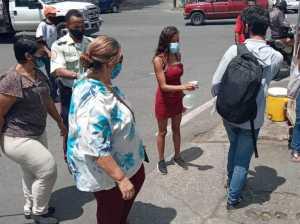 Retuvieron 28 personas que no portaban tapabocas en Charallave
