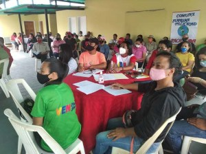 Waraos lead consultation on the Law of Communal Cities in Delta Amacuro