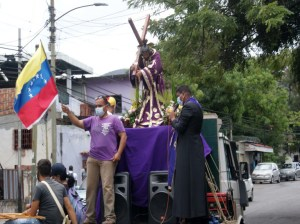 El Nazareno recorrió las calles mirandinas