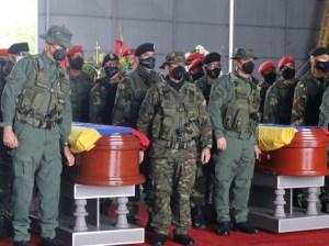 Honran a militares caídos en defensa de la soberanía Nacional en Apure