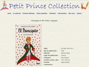 El Principito de Editorial Saber entró en la Petit Prince Collection