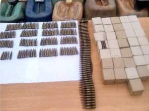 Efectivos del Ceofanb incautaron material de guerra en Táchira