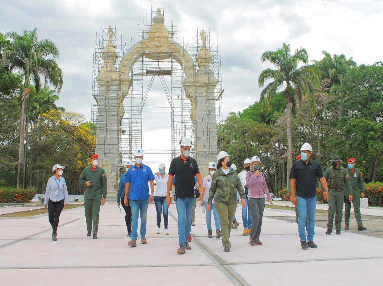 Avanza rehabilitación de 19 obras emblemáticas del Campo de Carabobo