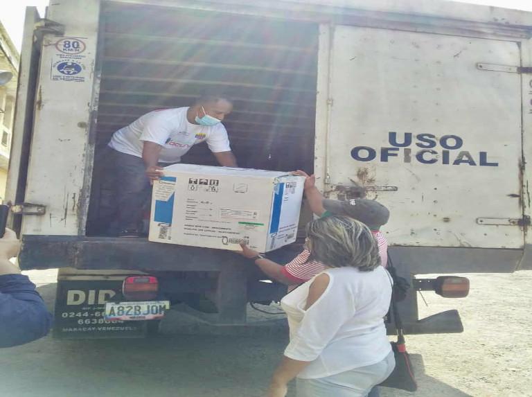 El Zulia recibe las vacunas chinas contra la covid-19