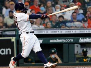 Altuve put his face out for the Astros