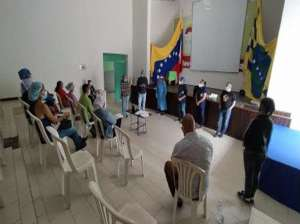 They train the staff of the Bolívar Comprehensive Community Health Areas