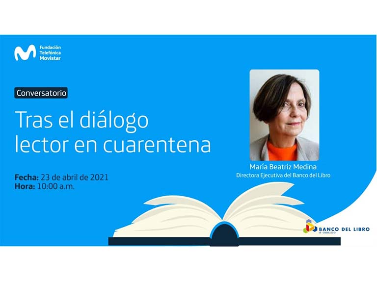 "Movistar and the Banco del Libro promote ""After the dialogue in quarantine"""