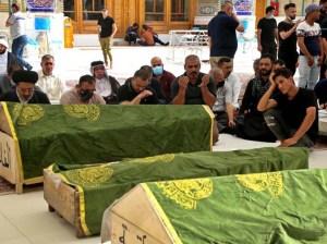 Aumentan a 82 los decesos por incendio de un hospital iraquí