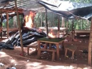 Destruyeron campamento de banda El Perú y abatido uno de sus socios