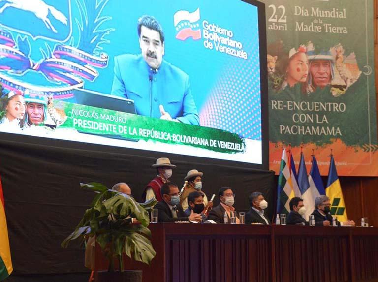 Presidente Maduro alertó sobre crisis climática mundial