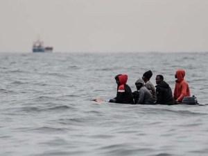 Rescatados 159 migrantes frente a la costa del norte de Francia