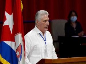 Díaz-Canel respalda amplio debate en Congreso de PCC