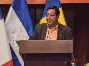 Luis Arce llama a crear una economía en armonía con la naturaleza