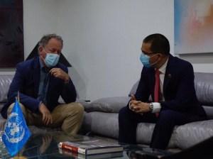Director del Programa Mundial de Alimentos de la ONU arribó a Venezuela