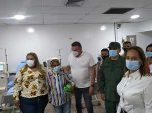 Villa del Rosario nephrological center is rehabilitated in Zulia