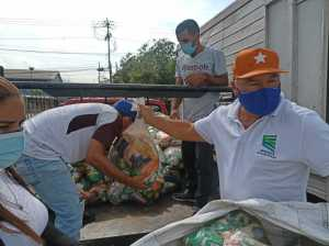 720.65 tons of food distributed in Guarenas