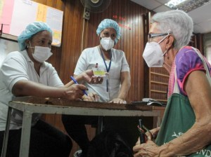 Vaccination of older adults advances in the regions