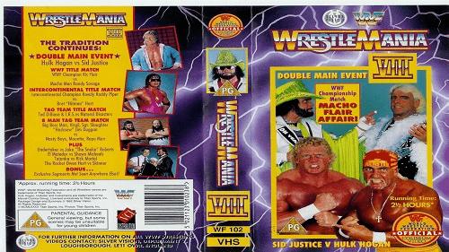 WWF WrestleMania VIII (8) du 5 avril 1992 en VO