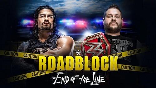 WWE Roadblock : End of the Line 2016 en VF – MEGA