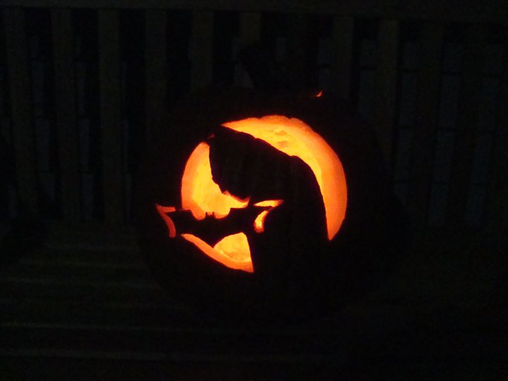 Haunted House Pumpkin Carving Stencil
