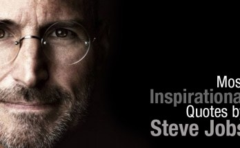 Most Inspirational Quotes by Steve Jobs: