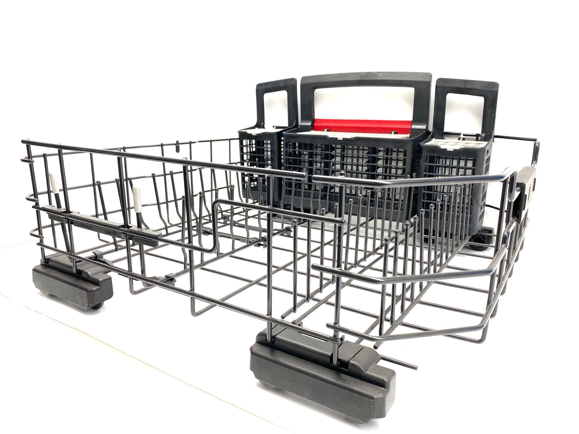 wd28x22659 ge dishwasher lower rack wd28x10371 wd28x10346