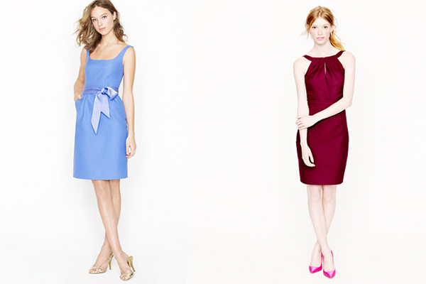 cady jcrew bridesmaid dresses